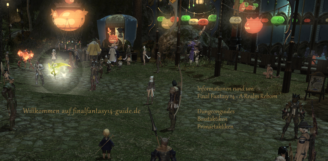 Final Fantasy 14 Guide Bosse Taktiken Deutsch