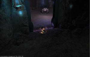 Final Fantasy 14 Dungeon boss Tempelwächter Golem-Seelenstein
