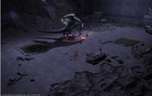 Final Fantasy 14 Dungeon Boss Teratotaurus