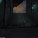 Final Fantasy 14 Versunkener Tempel von Quarn Dungeon Impression