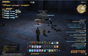 Final Fantasy 14 Der Versunkene tempel von Quarn Waage des Urteils