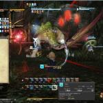 Final Fantasy 14 Dungeon Brüllvolx Langrast Boss Großer Gelbpelikan