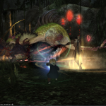 Final Fantasy 14 Dungeon Brüllvolx Langrast Boss Großer Pelikan