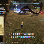Final Fantasy 14 Dungeon Brüllvolx Langrast Boss Sonnen-Drakon