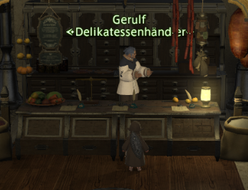 Final Fantasy 14 Delikatessenhändler