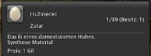 Final Fantasy 14 Hühnerei Quest