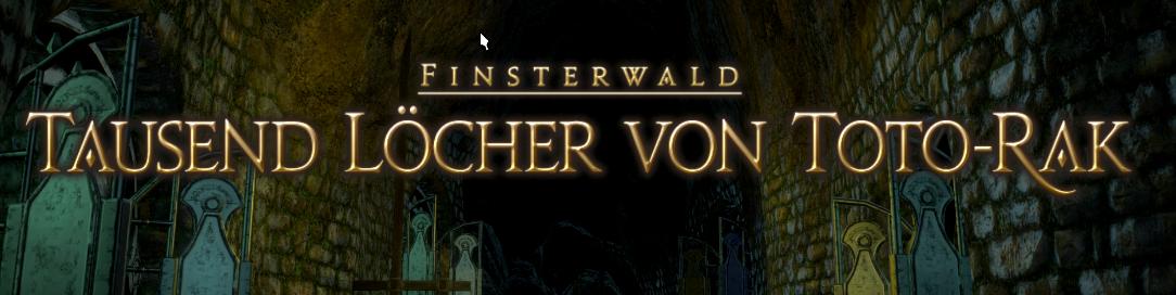 Final Fantasy 14 Tausend Löcher von Toto-Rak