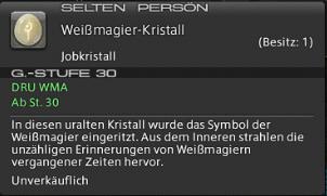 Final Fantasy 14 Seelenstein Job Weissmagier