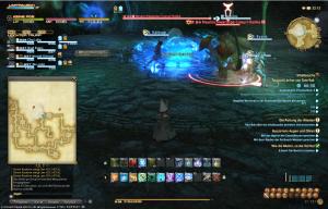 Final Fantasy 14 Tausend Löcher von Toto-Tak Neuschwänzige Coeurl Reloaded